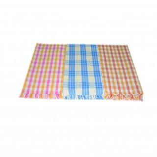 Multi Colour Cotton Bath Towel - Set of 3 Pcs