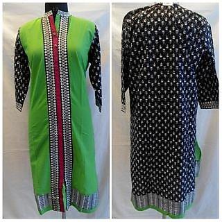 straight long collar neck sherwani pattern kurti xxl size