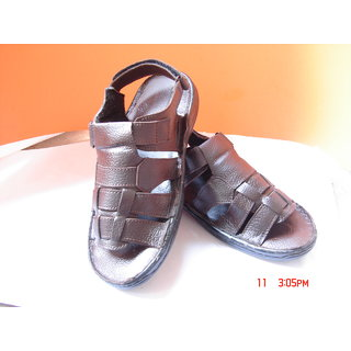 A Brown Color Sandal For Men's.