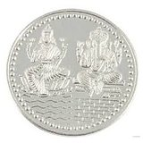 SILVER Coin 10 Gm Each (Pack Of 2) Of Lakshmi Ganesh