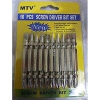 10 PCS SCREW DRIVER BIT SET