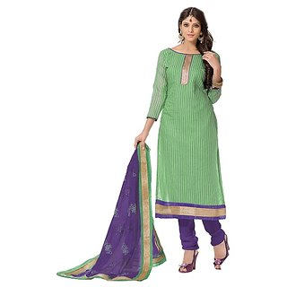 Florence Green Armaan Chanderi Embroidered Suit