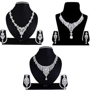 Atasi International Prima Combo Nacklace Alloy Jewel Set