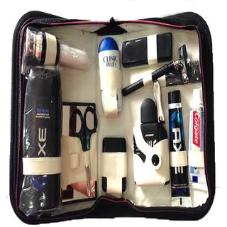 Shaving And Grooming Kit Wih All In One Shaving Experience (12 Accessories)