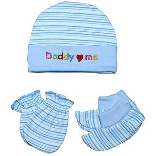 Baby Cap Mittens Booties Combo Set ba949a7f1d7