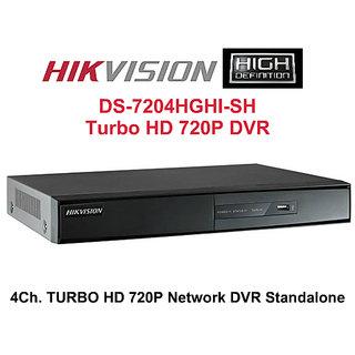 HIKVISION DS-7204HGHI-SH TURBO HD 720P DVR  (4Ch HD DVR)