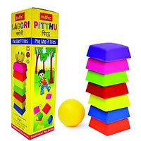 Lagori Pitthu Traditional Activity Toy for Kids by Buddyz