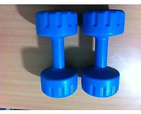 Sihra 3 Kg PVC Dumbbell Pair (Net 6 Kg)