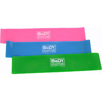 Body Sculpture Resistance Band Set With DVD BB-103