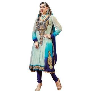 Designer wear Anarkali Salwar Suit Unstiched (Unstitched)