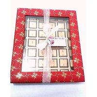 Carnival Window Box_30 Pcs Fruit N Nut Antz Chocolates_Free Message Card Attatch
