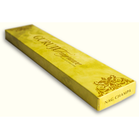 Guruji Fragrance Budget Collection Incense Sticks (Nag Champa) -Pack Of 12 Boxes
