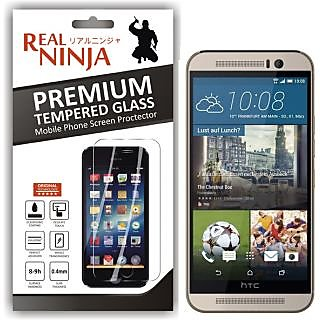 Real Ninja Tempered Glass Screen Protector for HTC M9