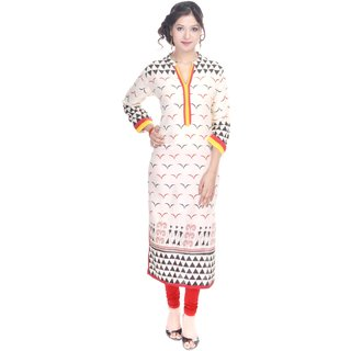 Vihaan Impex Designer Handmade Rayon Kurti Top Casual  Formal Wear