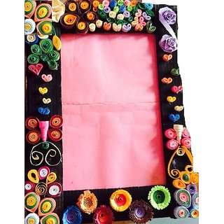 Handmade Beautiful Quilling Paper Photo Frame