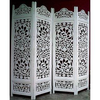 wooden royal white screen