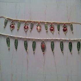 satya traditional meenakari door hanging combo pack of 2