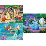 Frank Disney Princess 3 In 1 Puzzle