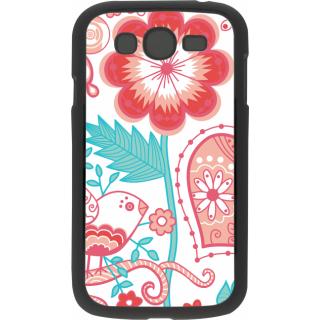 Ff (Love Bird) Black Plastic Plain Lite Back Cover Case For Samsung Galaxy Grand
