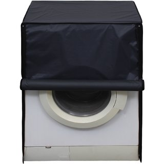 Glassiano Dark Gray Waterproof  Dustproof Washing Machine Cover For Front Load 7.5Kg Model