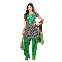 Florence Black  Green Ritha fashion American creap Embroidered Suit (SB-2094-APR)