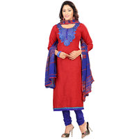 Florence Red Ritha fashion American creap Embroidered Suit (SB-2093-APR)