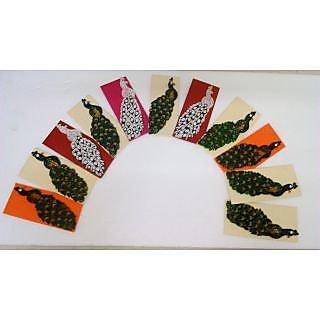 Unique quilled peacock Envelopes