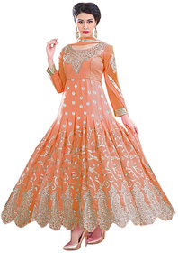 Florence Orange Raja Tex  Georgette Embroidered Suit (SB-2531)