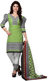 Florence Green ANANYA VOL-2 Cotton Printed Suit (SB-2672) (Unstitched)