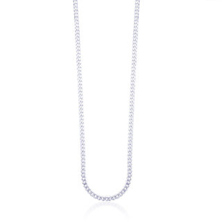Taraash Neck Chain 925 Sterling Silver For Men Acdh1006C20In