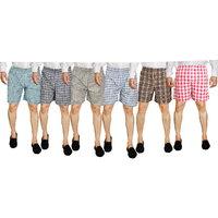 Mens Boxer Shorts ( Set of 6 )