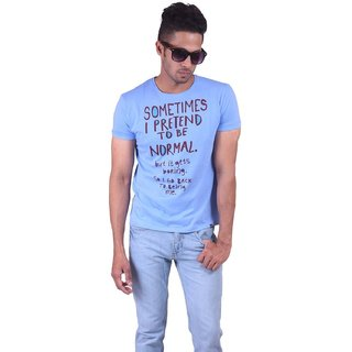 JDC Round Neck Cotton Tshirt (OTVF359)