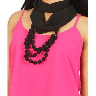 Isadora Solid 100% Polyester Women's Scarf