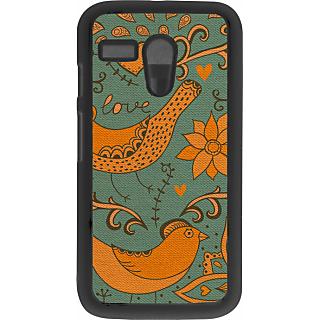 Ff (Ekk Main aur Ekk Tu) Black Plastic Plain Lite Back Cover Case for Motorola G