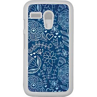 Ff (Enlightenment) White Plastic Plain Lite Back Cover Case for Motorola G