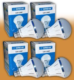Oreva 10w LED Bulb - Eco Series - Pack Of 4