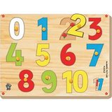 Skilofun Number On Picture Tray 0 10 With Knobs