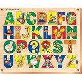 Skilofun Picture On Alphabet Tray With Knobs