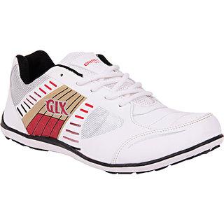 Galaxy Men's Stylish White Sport's Shoes GLX-09 WRG