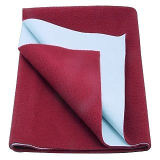 Waterproof Baby Sleeping Mat (Maroon Large)