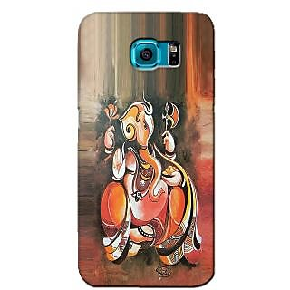 Snooky Back Cover Cases For Samsung Galaxy S6 Edge Brown - 32050