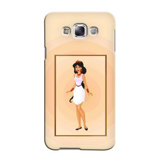 Snooky Back Cover Cases For Samsung Galaxy A3 White - 31157