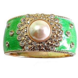 Fancy Green Bangle / Bracelet - 770