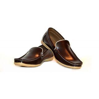 Man Casual lofer shoe- Brown