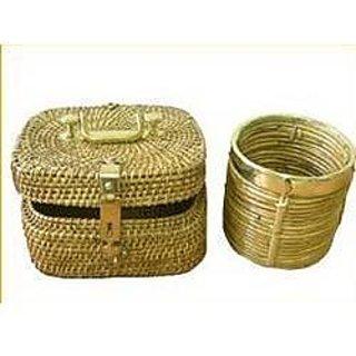 Wood Rush Grass Storage Box