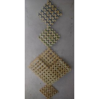 Icecream Stick Wall Hanging With A Small Cointainer
