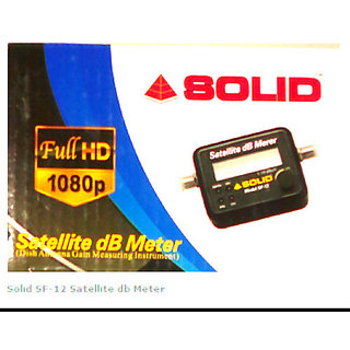 SOLID SF-12 Analogue Satellite dB Meter