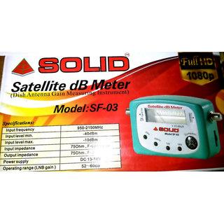 Solid Sf 03 Satellite Db Meter Dish Antenna Gain