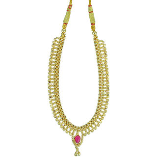 Womens Trendz Fancy Broad Thushi Necklace