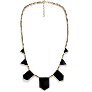 New Alloy Black Necklace